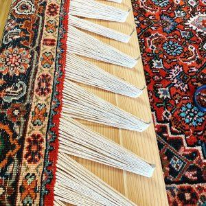 Teppichfransen repararieren