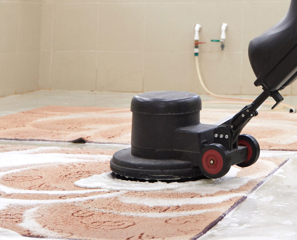 Teppich-Reinigungsservice