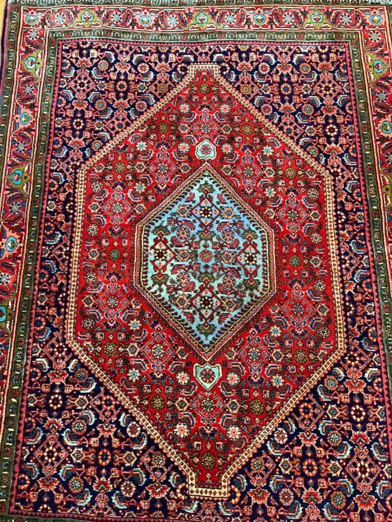 Teppich scheren - nachher